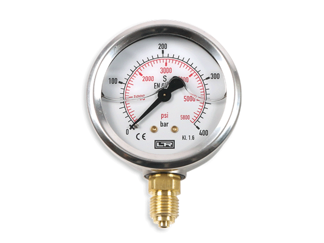 Rohrfedermanometer_Leitenberger_Analog