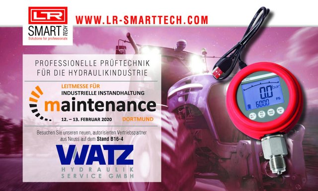 LR SMART TECH in Maintenance 2020